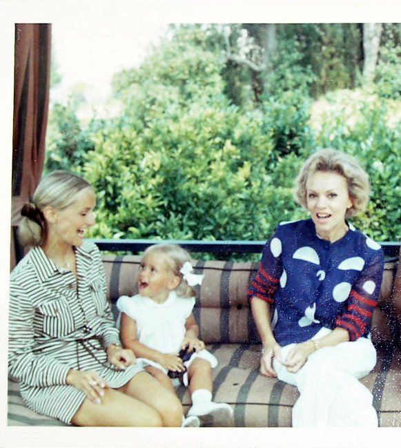 South of France circa 1970. From left to right: My mother, me, My grandmother Bettina Image property of Jessica Gordon Ryan/The Entertaining House