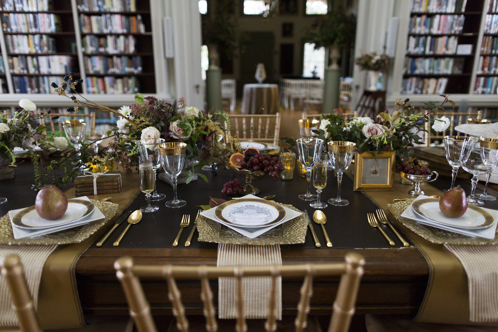 An Historic Library A Wedding And A Bibliophiles Dream Day The