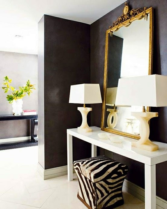 Through the Looking Glass :: Mirrors in Home Decor. Image via Esspey Inc.