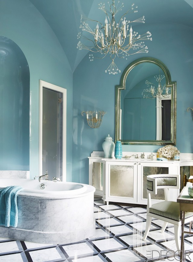 Through the Looking Glass :: Mirrors in Home Decor. Image ElleDecor