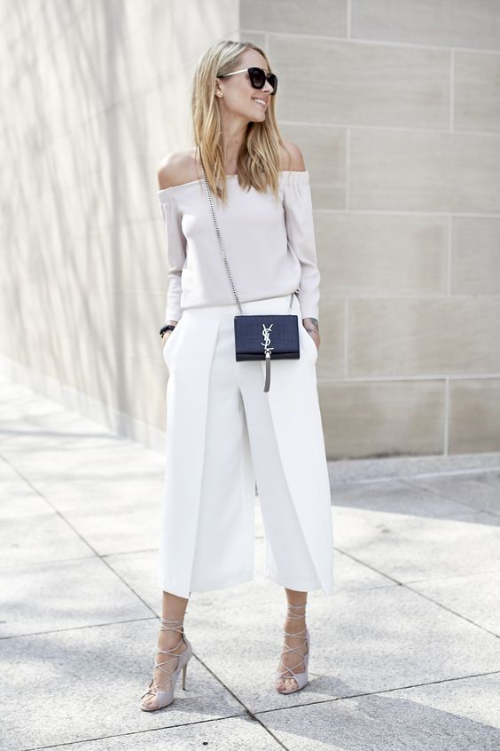 White is Hot! What to wear this summer via The Entertaining House. Via BlogLovin