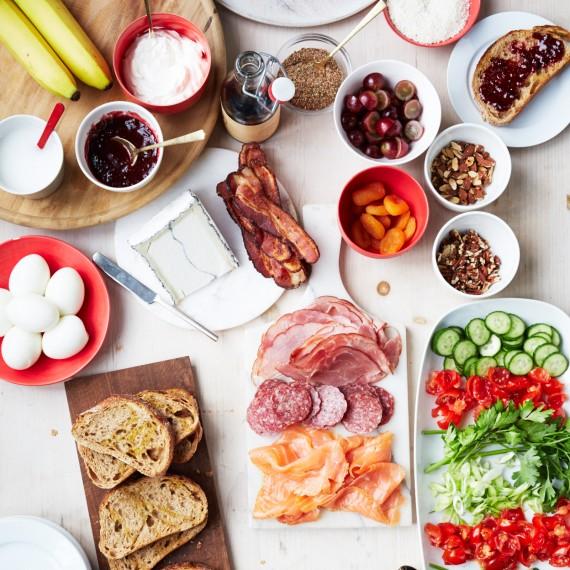 Eat this in a heatwave! Image via  Martha Stewart