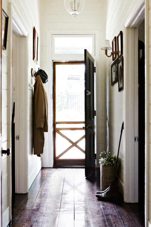 A New England Mudroom. Image  via