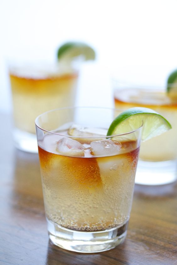 Summertime Cocktails for New England and Beyond. Dark & Stormy. Image via Movita Beaucoup