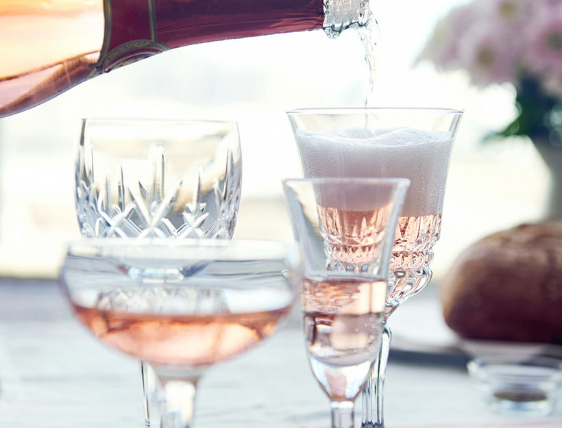 Mad about rosé - the summer's hottest wine Image: Goop