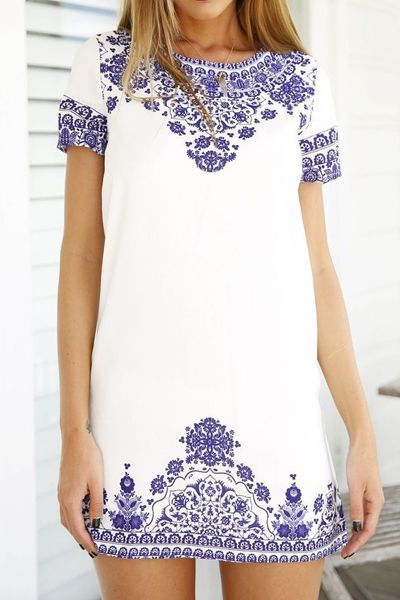 Boho-Chic :: Appliqués, Embroidery & Embellishments - The Entertaining House. Image via Zaful