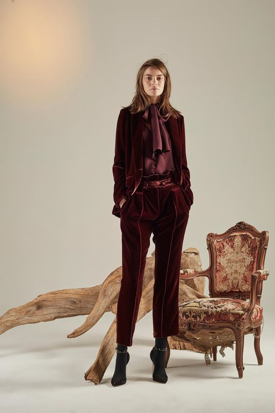 Velvet Crush :: The Season's Hottest Look. Image via Vogue