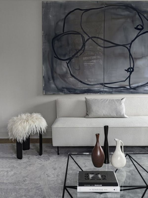 The White Couch :: Your Blank Canvas to Design. Image Heidi Wasserman