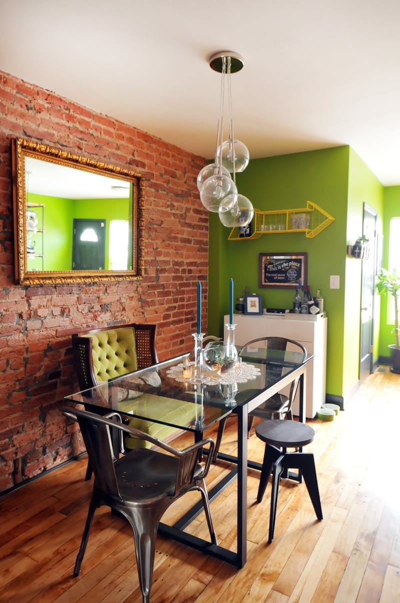 Pantone's Color of the Year gets a Green Thumbs Up!  Image via Apartment Therapy