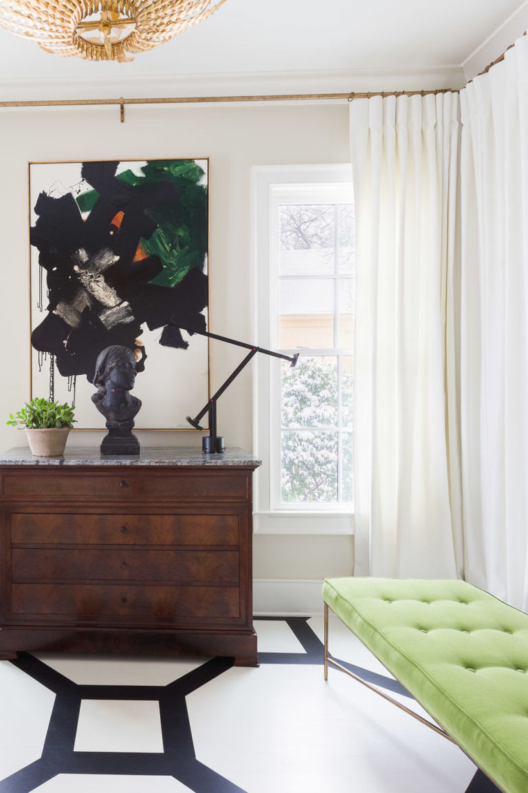 Pantone's Color of the Year gets a Green Thumbs Up!  Image via Elle Decor