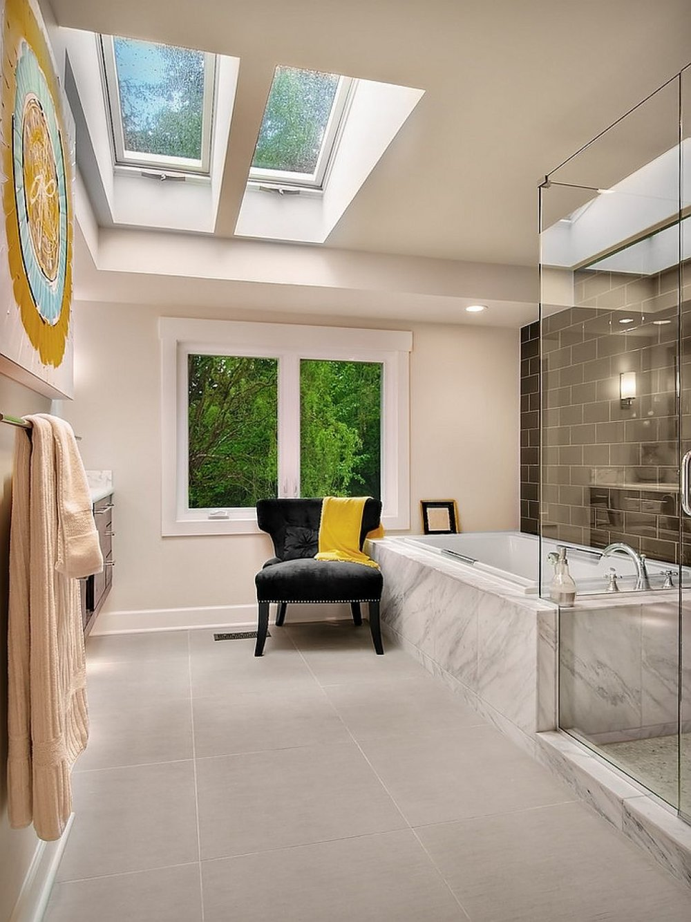 Glass Ceiling Image via  Design Milk
