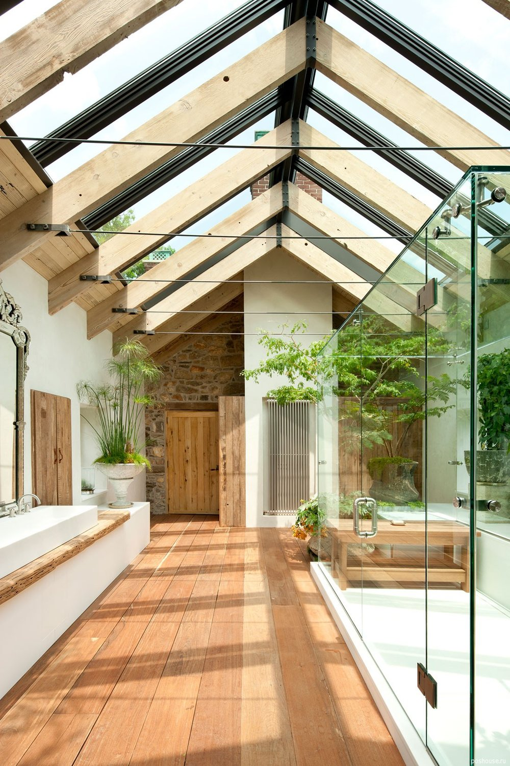 Design crush glass ceilings we don 39 t want to break for Haus in u form