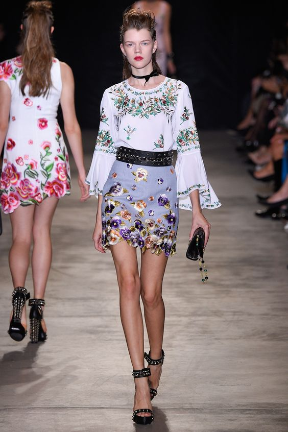 Floral Notes :: What to wear this spring. Image Andrew Gn, Vogue