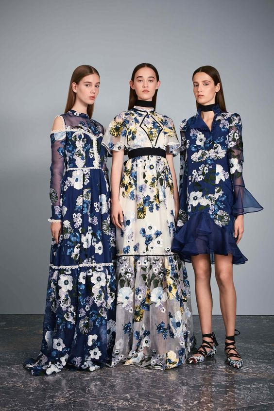 Floral Notes :: What to wear this spring. Image Edem, Vogue
