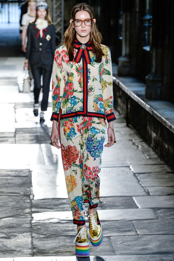 Floral Notes :: What to wear this spring. Image Gucci