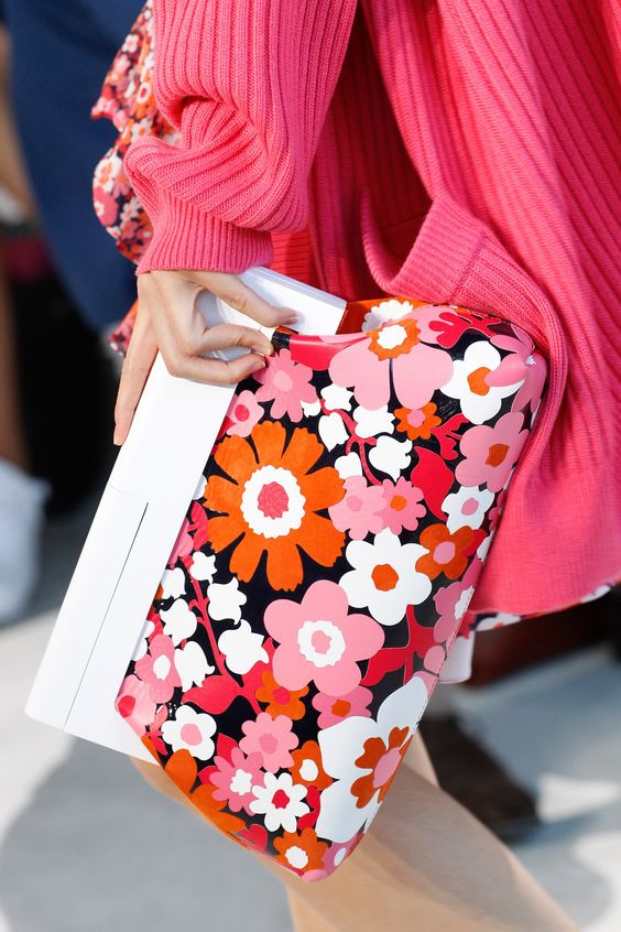Floral Notes :: What to wear this spring. Image Michael Kors, Vogue
