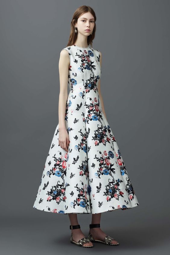 Floral Notes :: What to wear this spring. Image Valentino, Vogue