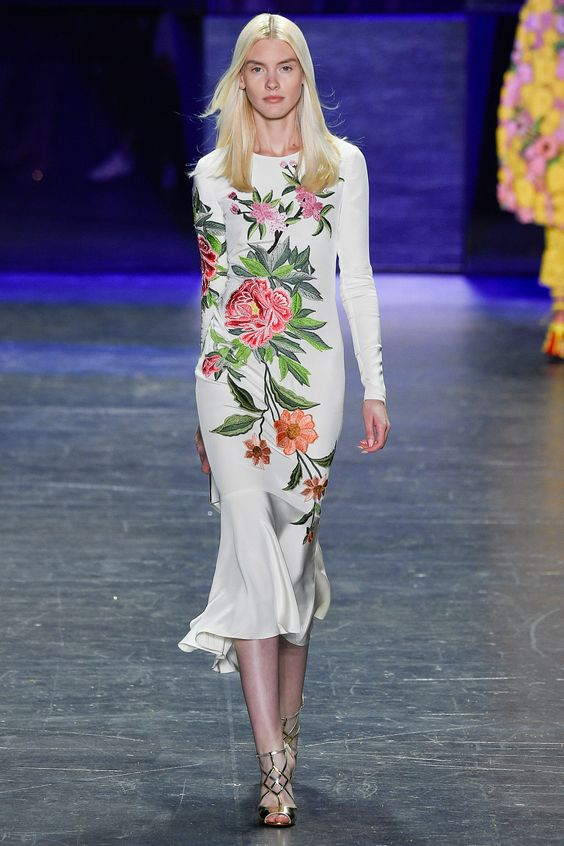 Floral Notes :: What to wear this spring. Image Naeem Kahn, Vogue