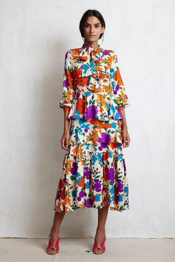 Floral Notes :: What to wear this spring. Image Warm, Vogue
