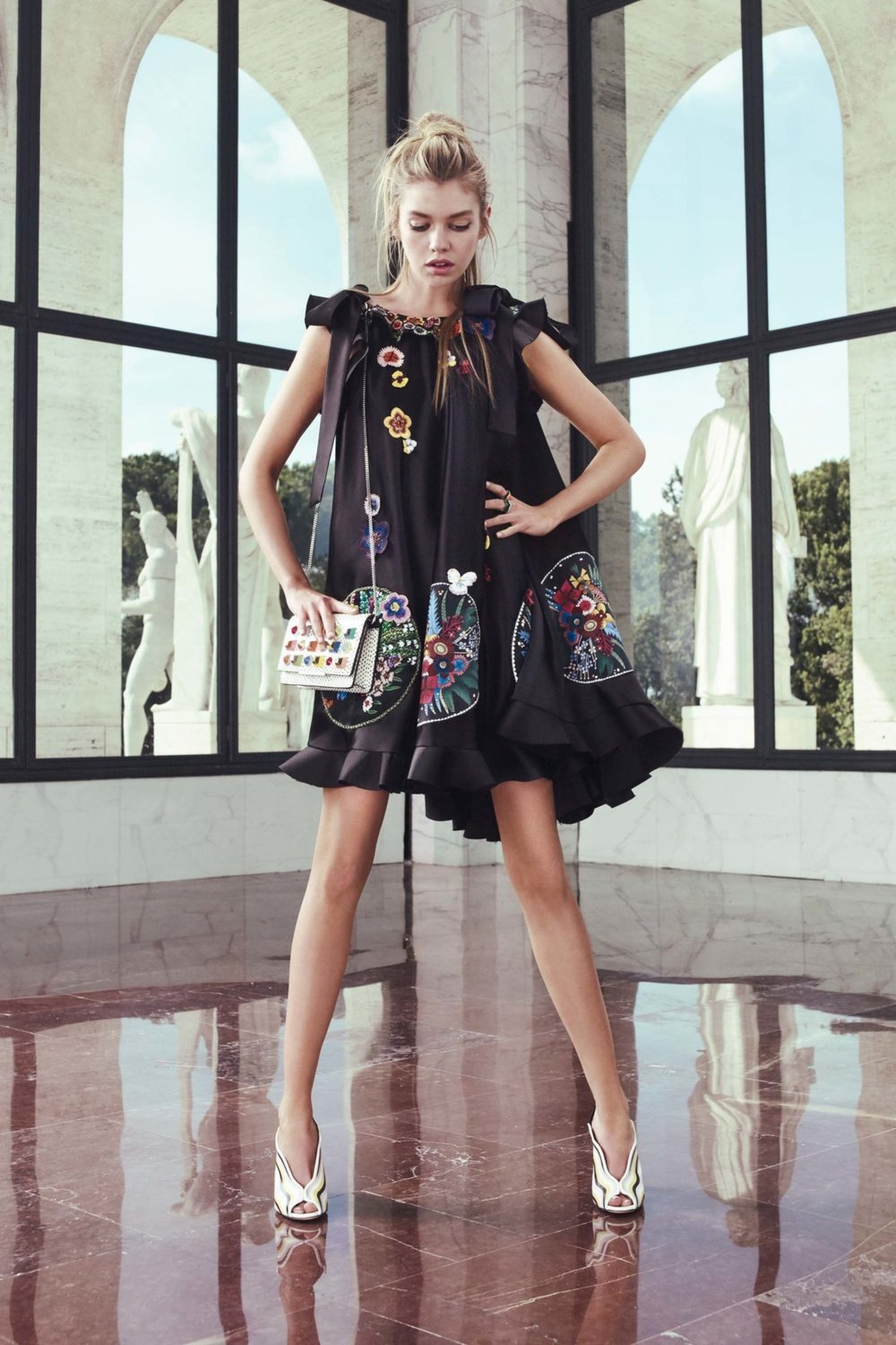 Floral Notes :: What to wear this spring. Image Fendi