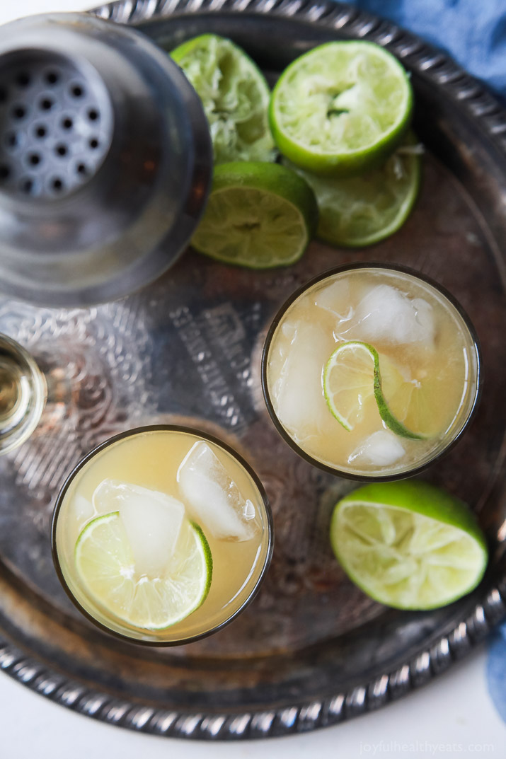 Celebrate National Margarita Day. Recipe roundup. The Ultimate Margarita via  Joyful Healthy Eats
