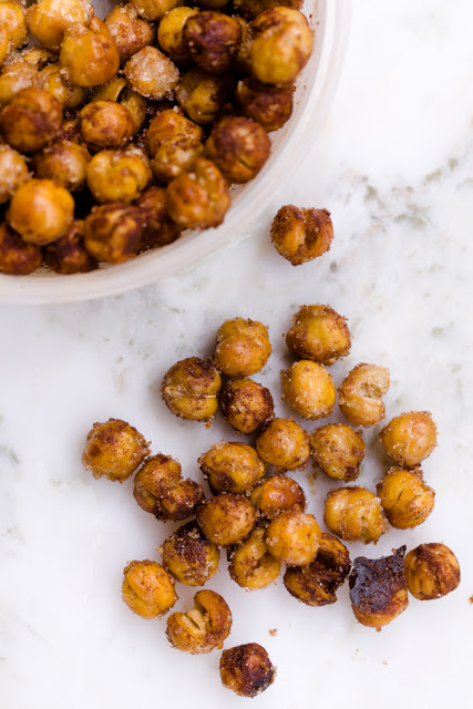 The Healthy Winter Kitchen. Crispy Chick Peas. Image via Tumblr.