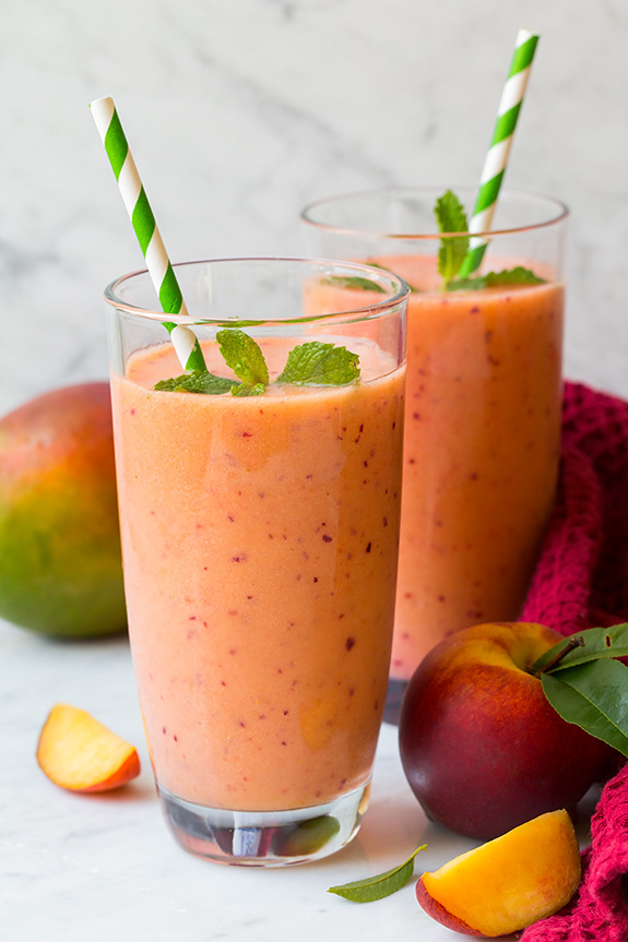 The Healthy Winter Kitchen. Image and smoothie recipe via Cooking Classy