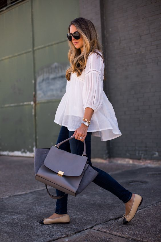 The Little White Blouse. Image via The Teacher Diva