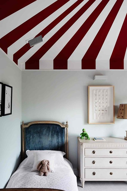 Under the Big Top - Ceilings to Celebrate. Image via  House & Garden UK