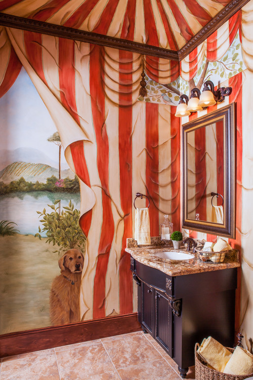 Circus Ceilings. Image via  Bella Home Styling