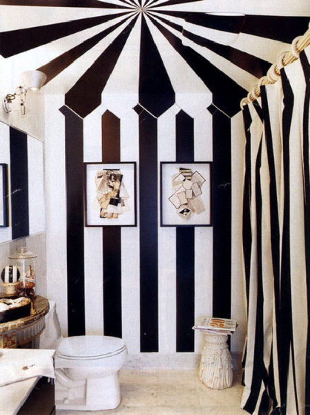 Circus ceilings that inspire. Image via  Apartment Therapy
