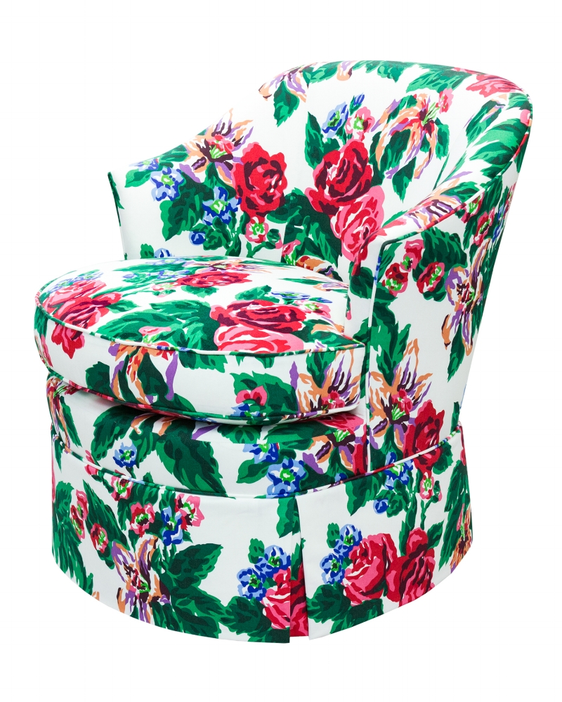 Lilly Chair. Decorating like Dorothy Draper