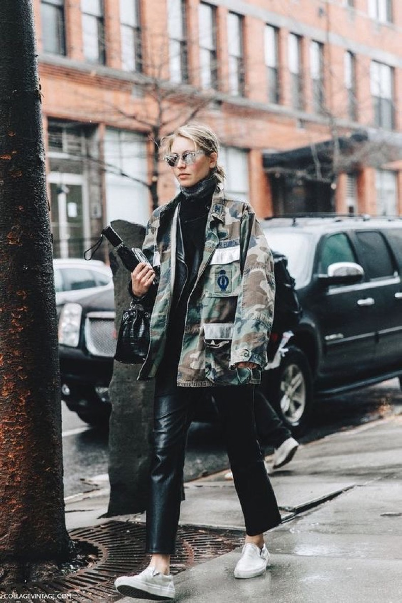 Camouflage as a Classic. Image via Collage VIntage