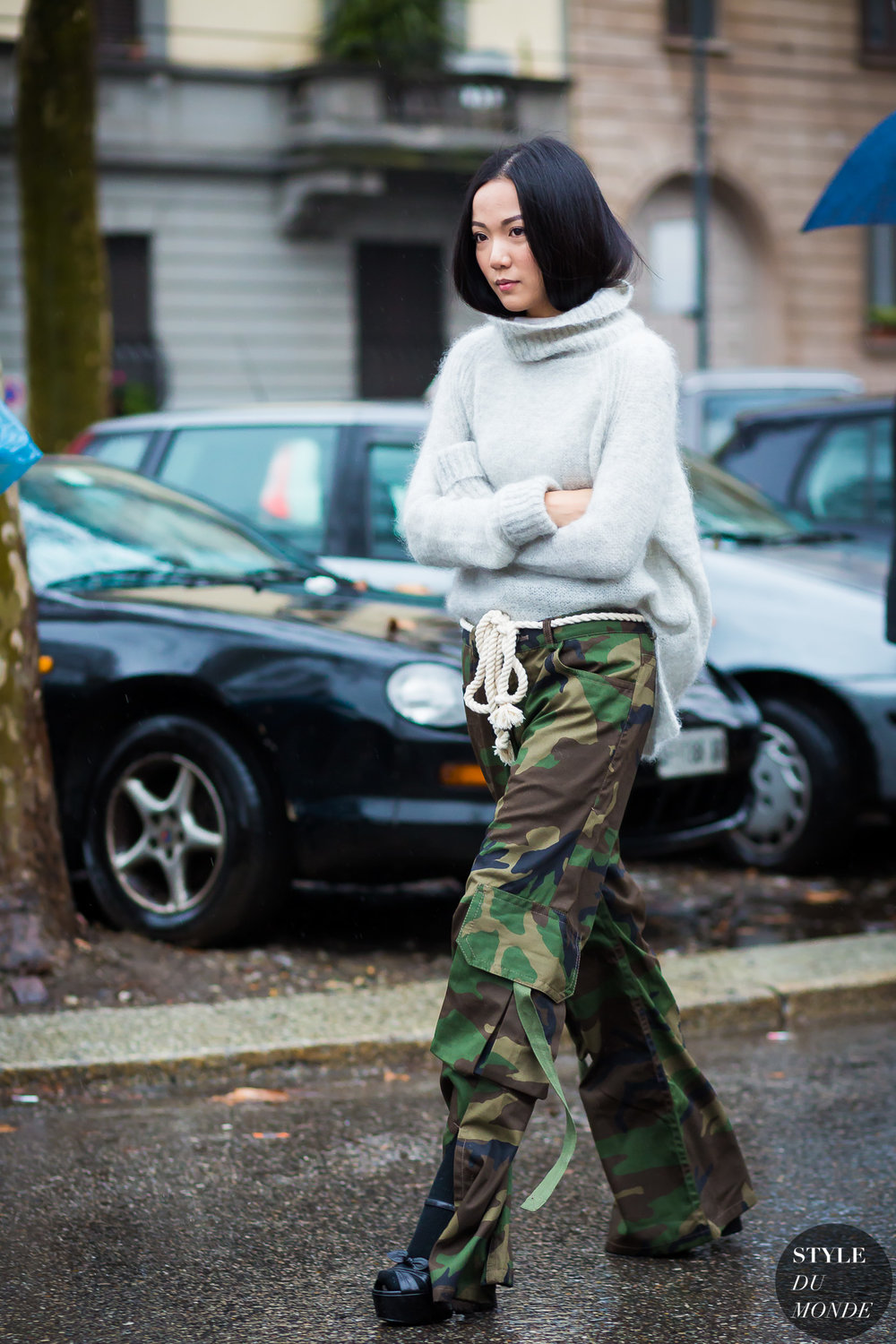 When done properly we see that Comfy Camo is not slouchy! Image via Style du Monde.