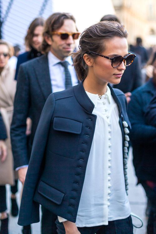 Military Jacket Chic - New York Girl Style