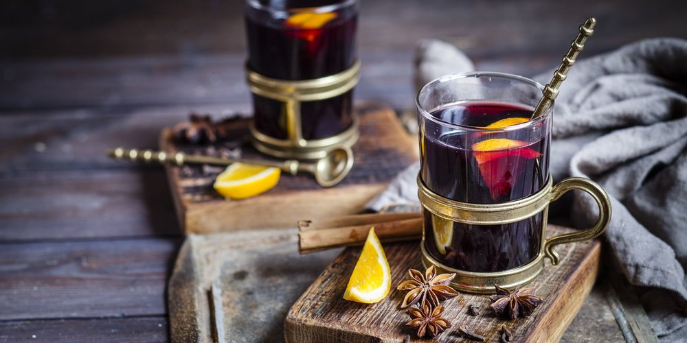 Warm Mulled Wine (Winter's Sangria) Image via Esquire Magazine