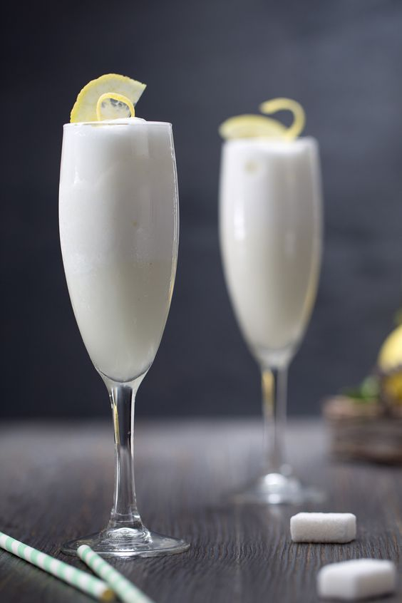 Champagne Cocktails: Sgroppino al limone. Image from the LA Times