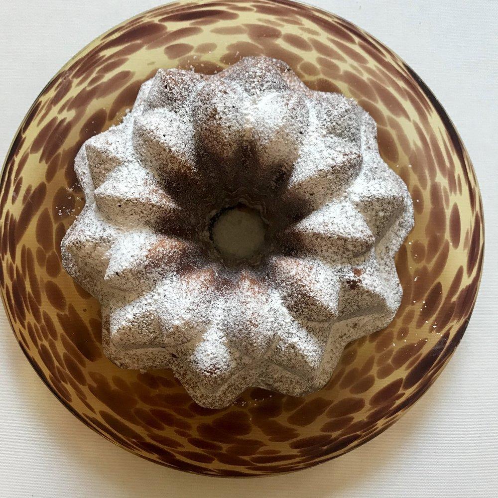Eggnog Pound Cake via The Entertaining House