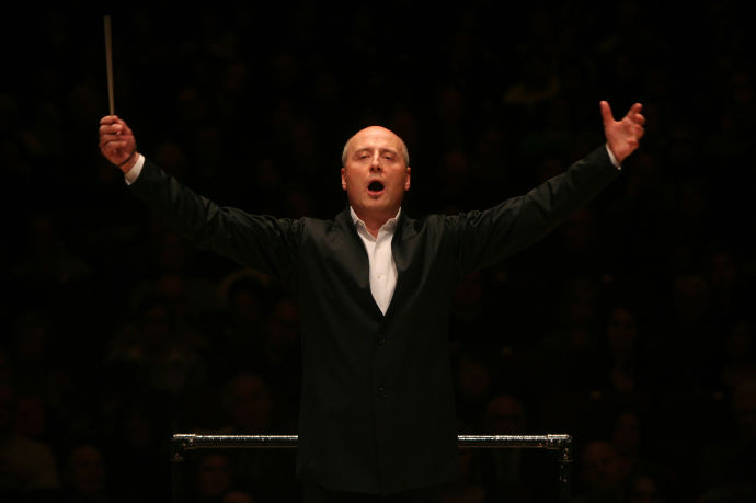 The Estonian-American conductor Paavo Järvi. CREDIT PHOTOGRAPH BY HIROYUKI ITO/GETTY