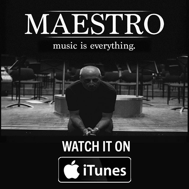 Have you ever seen a classical music documentary on the iTunes charts? 📽 Neither have we! ••• Help us change that by Pre-Ordering your own Maestro movie on iTunes today! Available now in US/UK/IRE/CAN 📲 Link in Bio // #culturemonster #getcultured #artist #maestro #paavojarvi #classicalmusic #classicalmusician #travel #itunes #liveauthentic #documentaryfilm #filmmaking