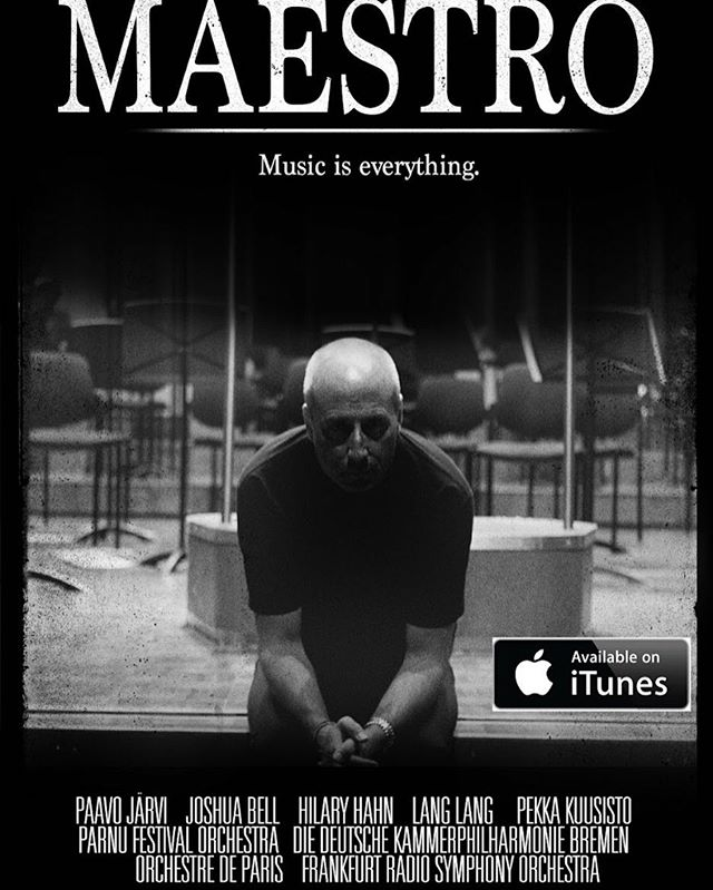 Pre-order Maestro today and help us rise on the iTunes Charts.  Let's show the world a side of classical music it's never seen!  https://itunes.apple.com/us/movie/maestro/id1136461451 #musiciseverything #maestromovie