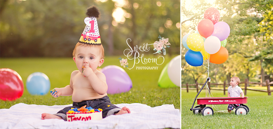 dayton ohio 1st birthday cake smash photographer jaxon.jpg
