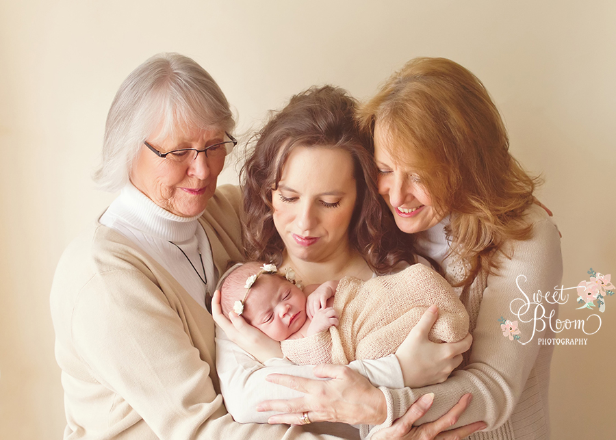 dayton ohio newborn photographer 4 generations.jpg