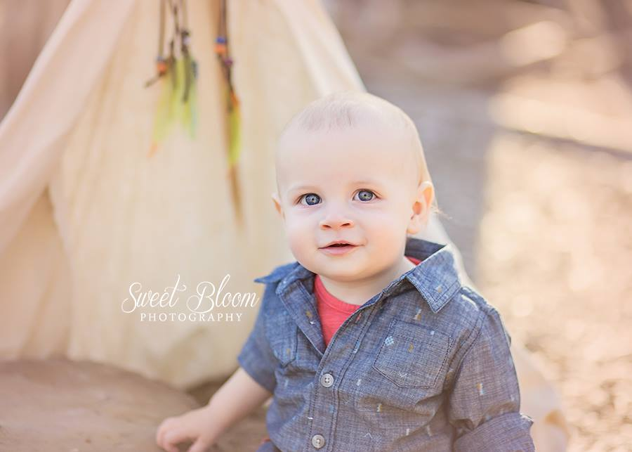 Dayton Ohio Baby Photographer 1st Birthday | Sweet Bloom Photography | www.sweetbloomphotography.com