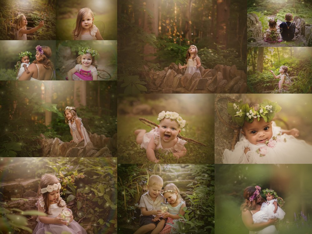 Dayton Ohio Mini Sessions Woodland Fairy Photography | Sweet Bloom Photography | www.sweetbloomphotography.com