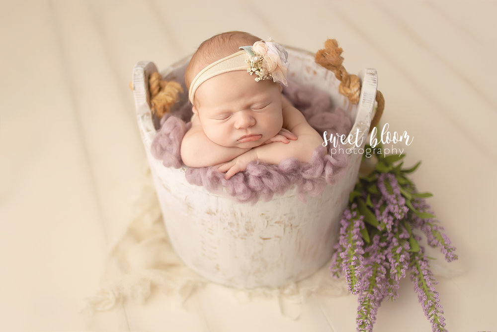 Lexington ky newborn photographer baby girl jpg