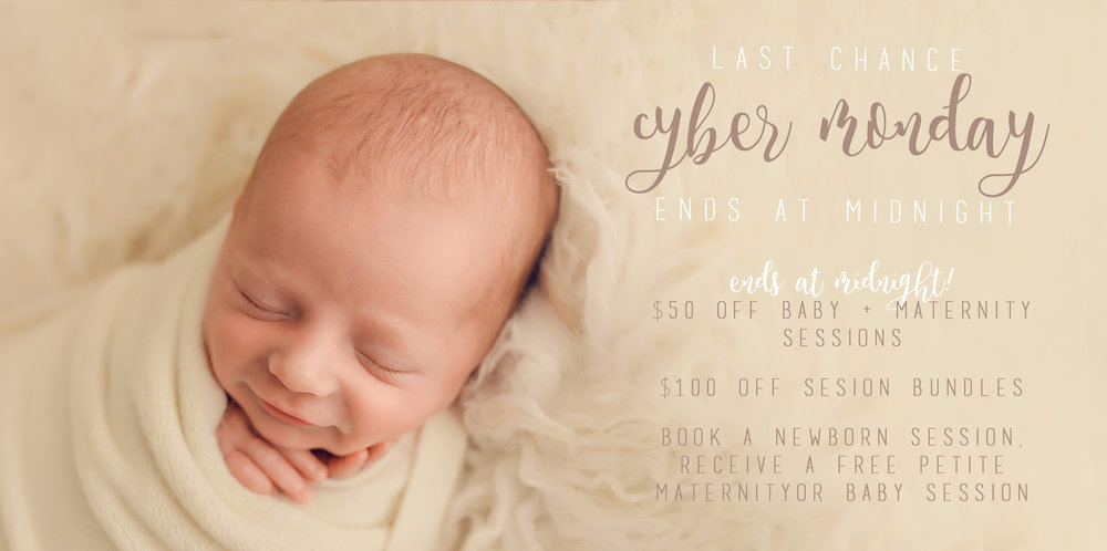 Lexington KY Newborn Photographer Cyber Monday Sale.jpg