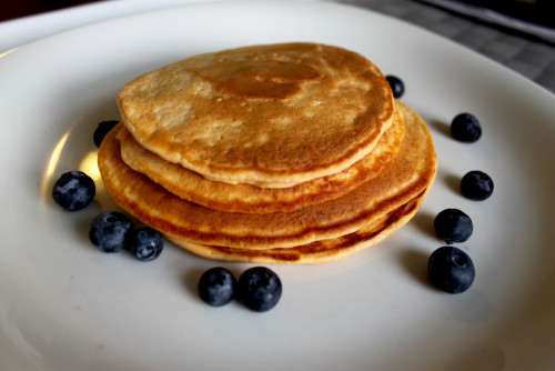Sweet Potatoe Protein Pancakes