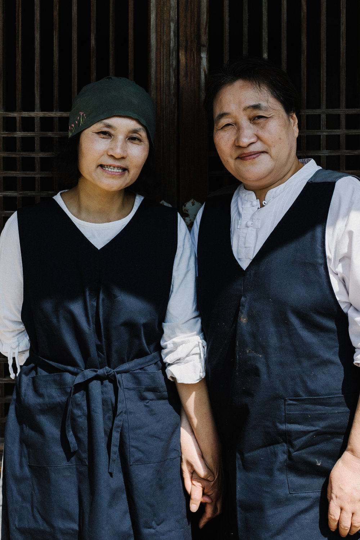 Songhee bosalnim and Jeonju bosalnim
