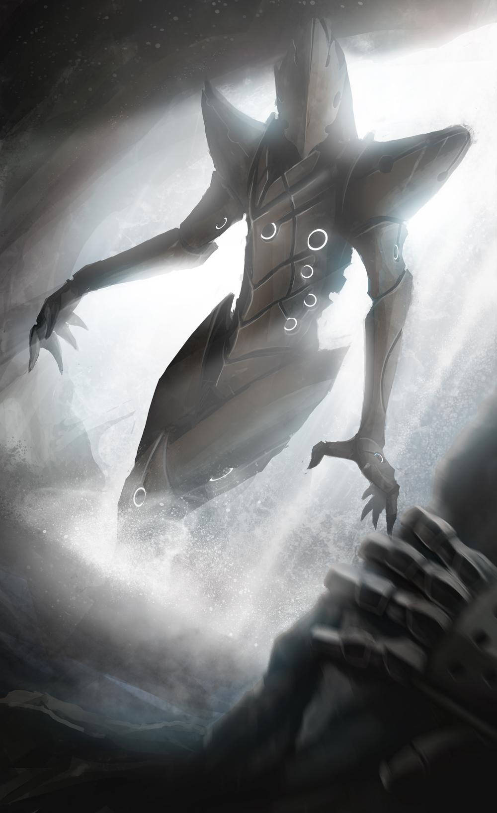 Alien Waterfall